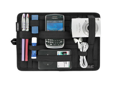 Cocoon-Grid-IT Organizer for Laptop Bags-BLK