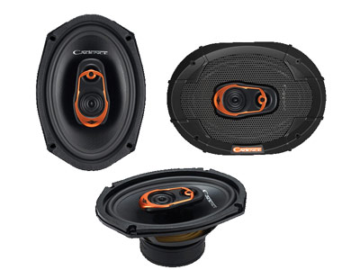 QRS 6x9'' 3way Speakers