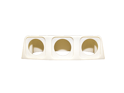 Conxus Surfacemount Housing 3-way WHITE + Quickconx