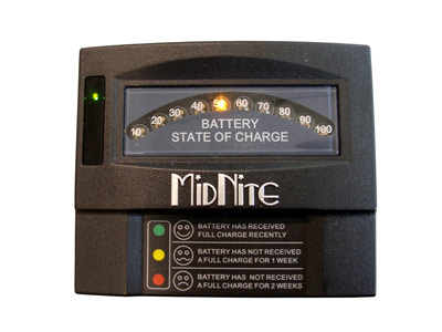 Midnite Battery Status Monitor (Switched LED type)
