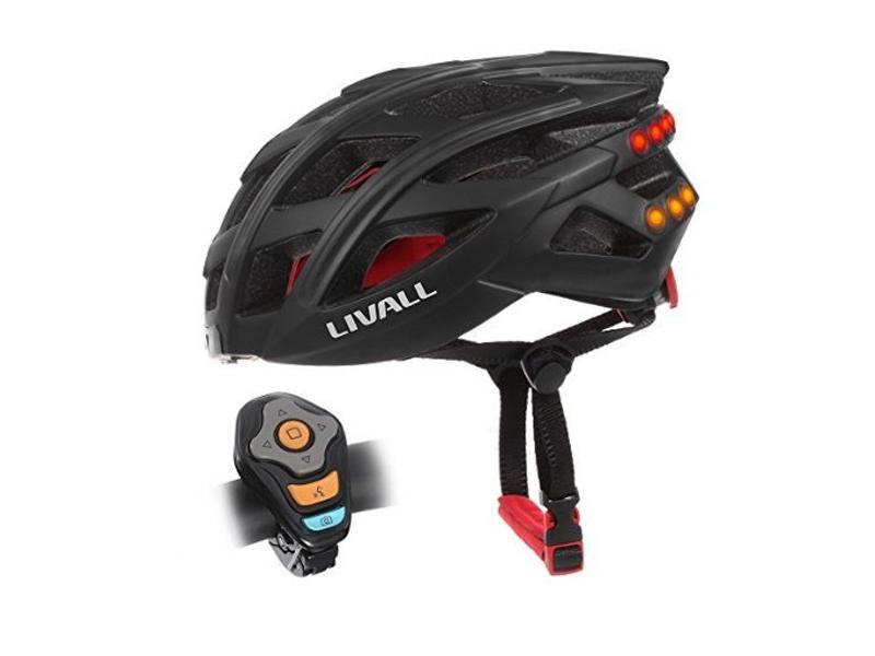 Livall BH60 Bling Biking Cycling Smart Helmet w// Volume Control LED Turn Signals