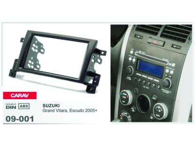 2-DIN Car Audio Installation Kit for SUZUKI Grand Vitara Escudo 2005-2012)