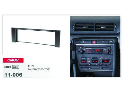 1-DIN Car Audio Installation Kit for AUDI A4 (B6) 2000-2006