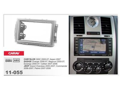 2-DIN Car Audio Installation Kit for CHRYSLER 300C 2005-07; Aspen 2007 / DODGE Charger 2006-07; Magn