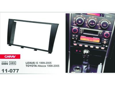 2-DIN Car Audio Installation Kit for LEXUS IS 1999-2005 TOYOTA Altezza 1998-2005)
