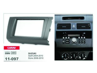 2-DIN Car Audio Installation Kit for SUZUKI Swift 2004-2010