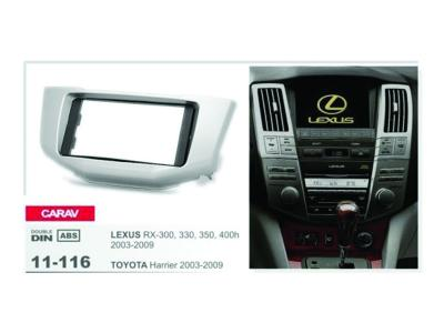 2-DIN Car Audio Installation Kit for LEXUS RX-300  330 350  400h 2003-2009 / TOYOTA Harrier 2003-200