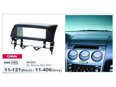 1-DIN Car Audio Installation Kit for MAZDA 6  Atenza 2002-2007 (Black