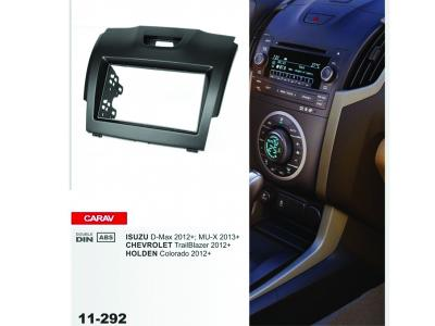 2-DIN Car Audio Installation Kit ISUZU D-Max 2012+ /CHEVROLET TrailBlazer 2012+ / HOLDEN Colorado 20