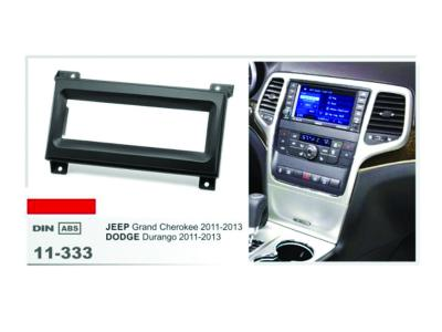 1-DIN Car Audio Installation Kit for CRYSLER (300)2008-10; (200) 2011+; Aspen 2008-09; Sebring 2007