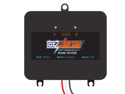 Oz Charge 12V 5A Battery Equaliser to suit 12V Lead Acid AGM  CALCIUM  GEL  WET batteries