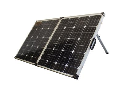 Oz Charge 160W 12V MONO Foldable Solar panel Kit with Carry Bag