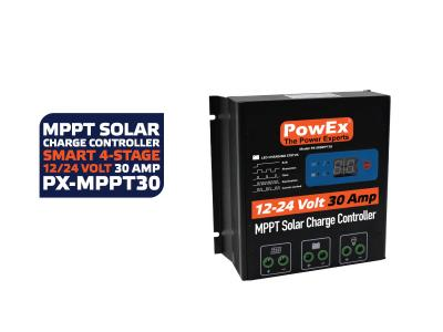 12V/24V 30 Amp MPPT Solar Charger with LOAD control