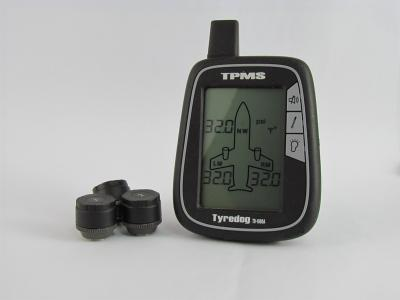 3 Wheel Light Aircraft External Tyre Pressure & Temperature Monitor (TYREDOG TPMS)