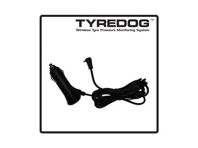 12V/24V Cigarette Lighter Plug / Wiring Lead. Suits all TYREDOG Monitors