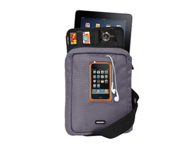 Cocoon-Gramercy Apple iPad Messenger Sling GRY/ORANGE
