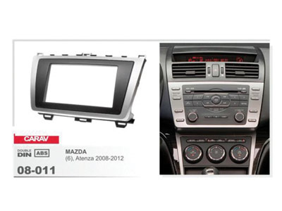 2-DIN Car Audio Installation Kit for MAZDA (6)  Atenza 2008-2012