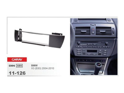 1-DIN Car Audio Installation Kit for BMW X3 (E83) 2004-2010)