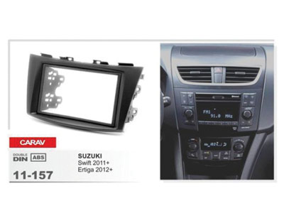 2-DIN Car Audio Installation Kit for SUZUKI Swift 2011+)