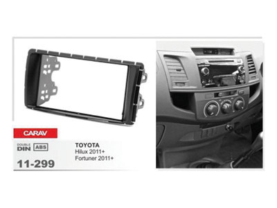 2-DIN Car Audio Installation Kit for TOYOTA Hilux 2011+)