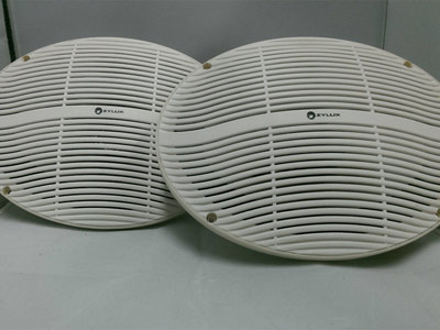 Zylux 6 x 9 Inch 3-way Pair Marine /Outdoor Speakers 120 Watts - White