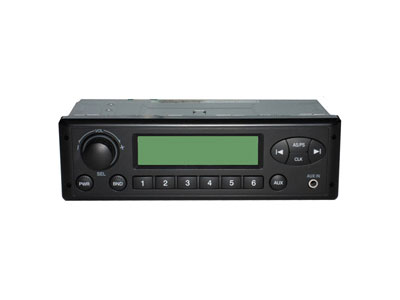Zylux 24 Volt AM/FM Stereo with AUX - Shallow mount