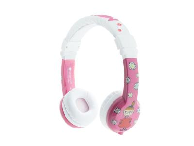 BuddyPhones Foldable Little My - Pink