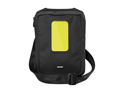 Cocoon-Gramercy Apple iPad Messenger Sling BLK/YELLOW