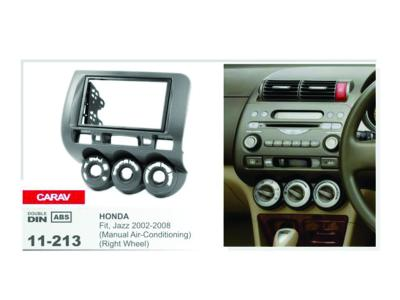 2-DIN Car Audio Installation Kit for HONDA Fit  Jazz 2002-2008 (Manual Air-Conditioning) (Right Whee