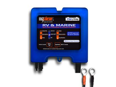 OzCharge 12 Volt 10 Amp RV Marine Battery Charger & Power Supply