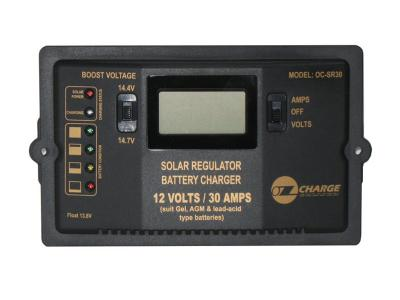 Oz Charge 12V 30Amp Solar Charger - Flush or Surface Mount 510 Watts Max