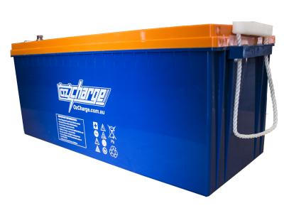Oz Charge 12V 160Ah AGM Deep Cycle Battery 4D Group Size