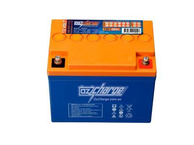 Oz Charge 12V 28Ah  AGM Deep Cycle Battery