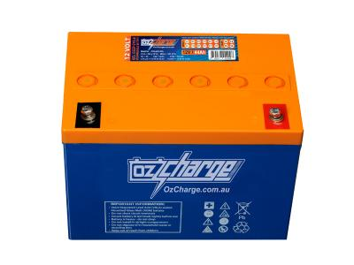 Oz Charge 12V 44Ah GEL Deep Cycle Battery