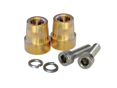 Oz Charge Brass terminal pair 6mm