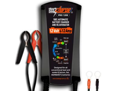 12 Volt 12 Amp Battery Charger and Maintainer
