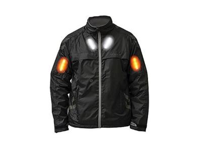 Visijax Commuter Jacket with Turn Signals (Black)